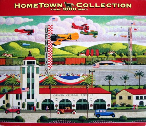 Home Town Collection Grand Central Terminal 1000 piece - Terminal Central Grand Shops