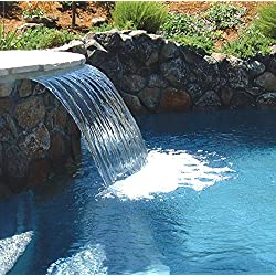 Zodiac Pool Systems 1103C Waterfall Lip for Swimming Pool, 3-Inch 1-Inch
