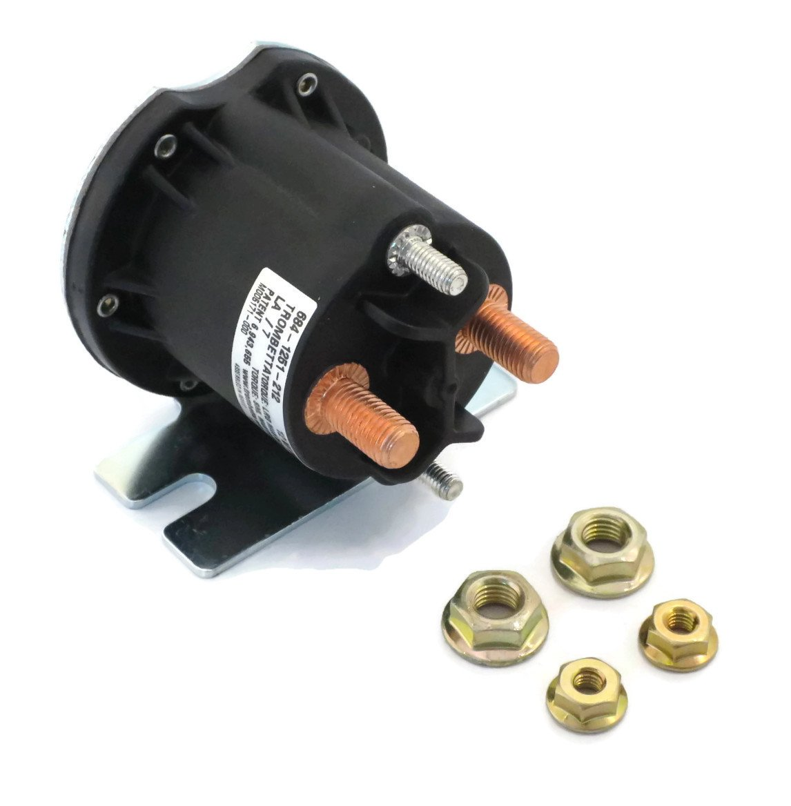Amazon.com: Snow Plow Motor Control Solenoid for Boss Straight & V ...
