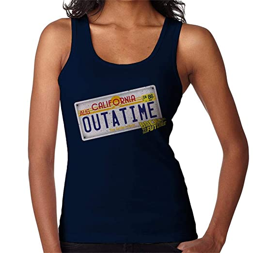 Ladies Outatime Plate Vest, Back to the Future, S to XXL
