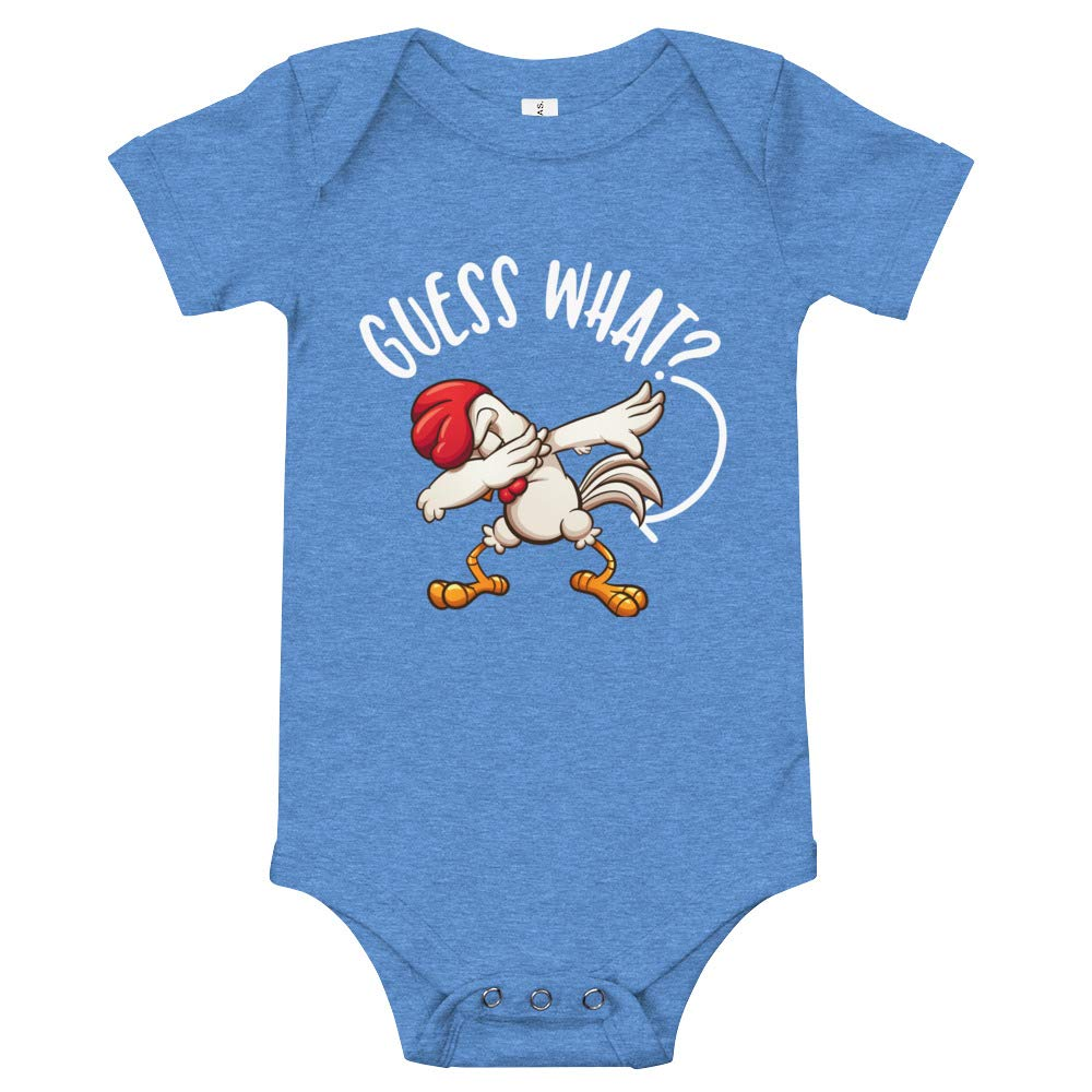 Guess What Chicken Butt Baby Onesie Funny Meme Shirt Gift