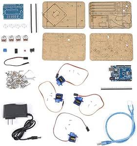 Juego de 4 garras de robot de cocina para montar en robotics SNAM1900: Amazon.es: Bricolaje y herramientas