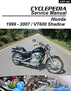 CPP-162-P Honda VT600 Shadow Cyclepedia Printed Motorcycle Service Manual