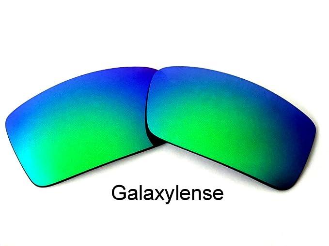 Galaxy Lentes De Repuesto Para Oakley Gascan Pequeño Polarizados Verde Color -