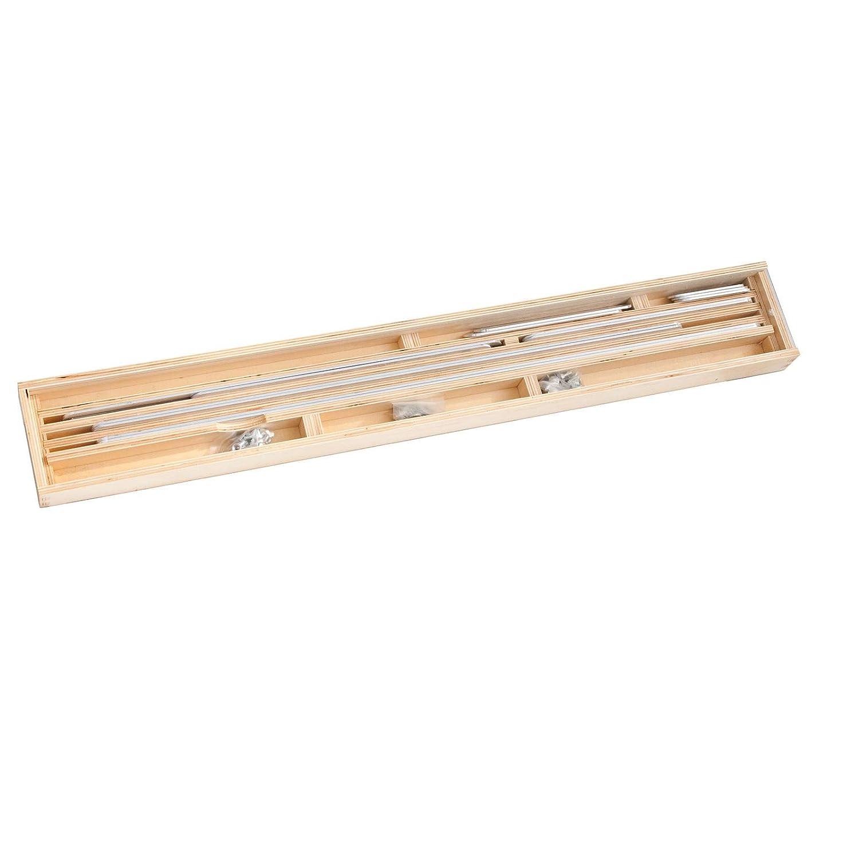 1 Winkelschablone//Treppen-Schablone//Treppenlehre im Holzkoffer