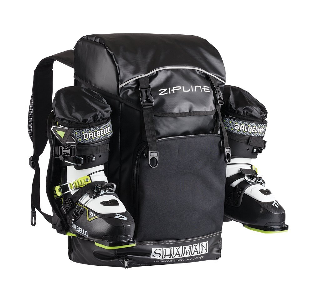 Zipline World Cup Backpack – Skiing and Snowboarding Travel Luggage – Stores Gear Including Jacket, Helmet, Goggles, Gloves & Accessories