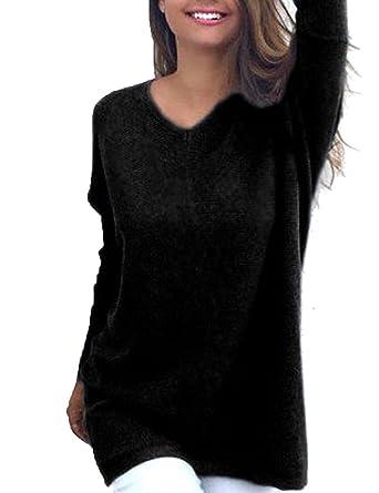 Women Cold Shoulder Blouse Long Sleeve Ladies Tops T shirt Pullover Jumper Plus