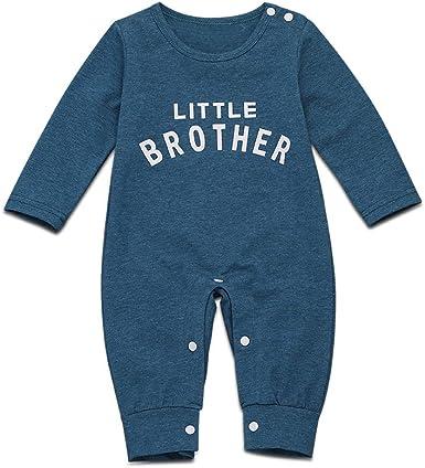 Pijama de manga larga de algodón para bebé, para recién nacido: Amazon.es: Ropa y accesorios