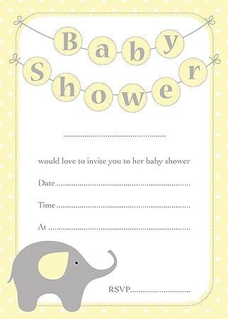 Baby Shower Invitaciones Fiesta Las Futuras Madres