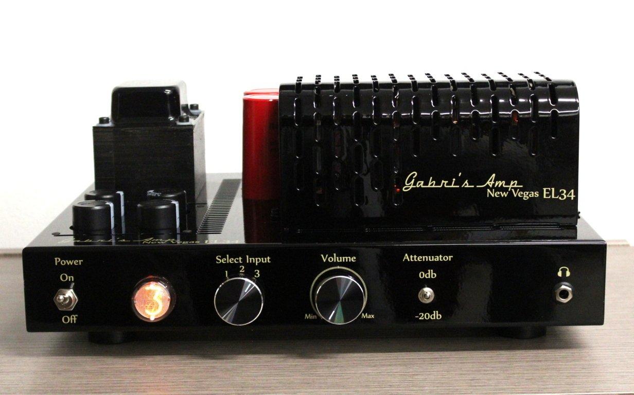 Amplificador estéreo con válvulas Push Pull 2 x 35 W, clase ...