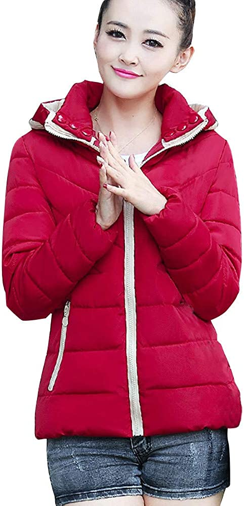 YKARITIANNA Women Swag Quilted Warm Spring New Hooded Thickening Slim Outwear Winter Warm Short Jacket Lady Coat