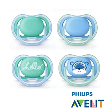 Philips AVENT Ultra Soft Air Chupete 2018 novedad//6 - 18 Mo ...