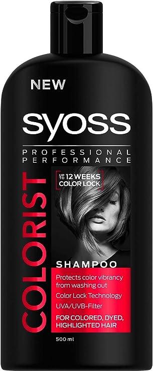 Saint alga – Syoss – Champú – Color Protect & gloss – Bote de ...