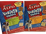 Alpo Variety Snaps Little Bites Beef, Bacon, Cheese, Lamb, Chicken, Liver and Peanut Butter Flavors – 32 Oz. (Pack of 2) Review
