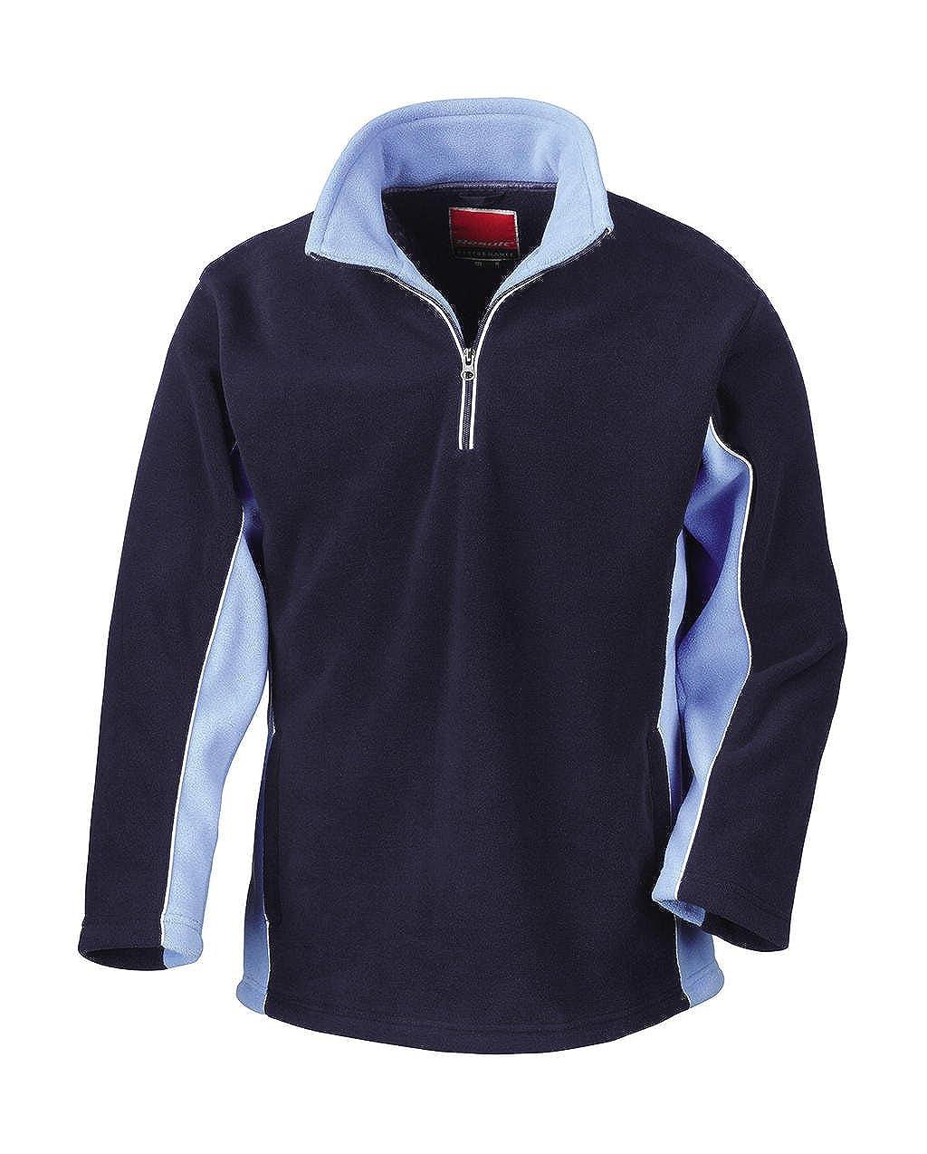 Tech3 Fleece-Sportsweatshirt mit 1/4 Reißverschluss R86X