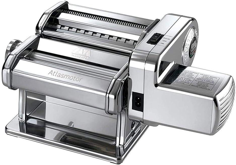 maquina para hacer pasta 9 Configuración ajustable Espesor Fideos Maker con lavable aleación de aluminio de rodillos y cortador, Manual multifunción Masa prensa de planchar for Fettuccine fresco espag
