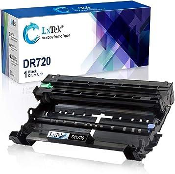 Black, 2-Pack Laser Tek Services Compatible Drum Unit Replacement for Brother DR720 DR-720
