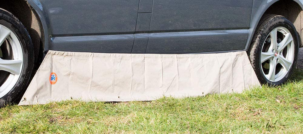 Just Kampers Awning Skirt /& Draught Excluder Stopper Compatible with VW SWB Transporter T4 T5 /& T6 1990 onwards