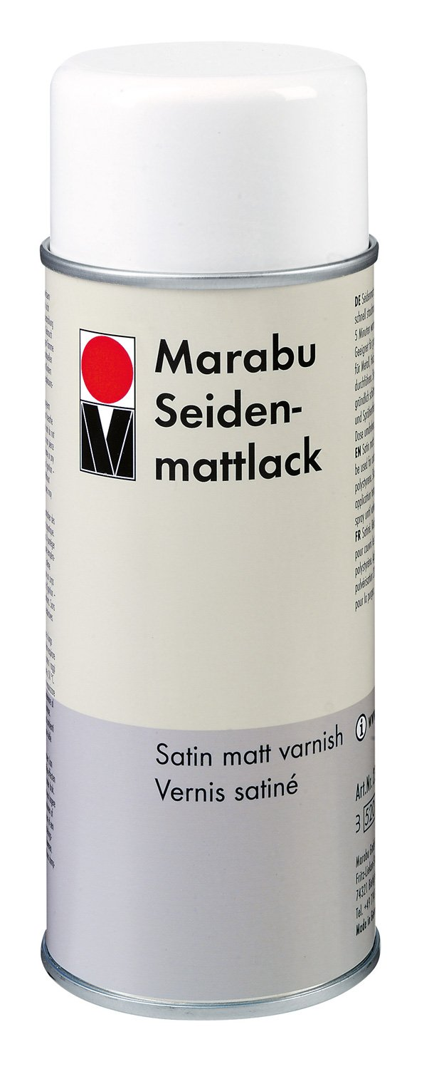 Marabu 400ml Satin Matt Varnish MR230418000 B004ROKGUY