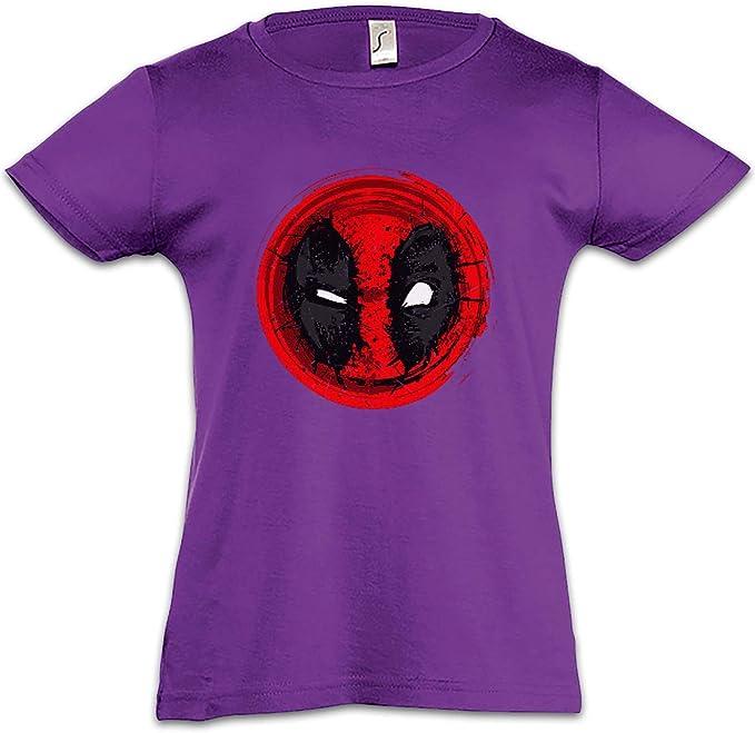 Mutant Mask II Camiseta para Niñas Chicas niños T-Shirt Vigilante Skull Logo Symbol Sign Deadpool Superhero Superheld Kinofilm Movie Comic: Amazon.es: Ropa ...