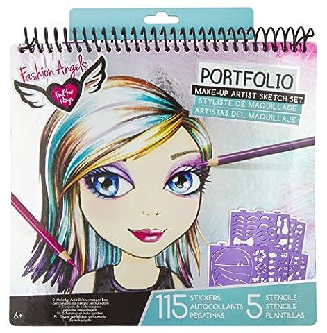 Fashion Angels Make-Up Portfolio - Fashion Design Set