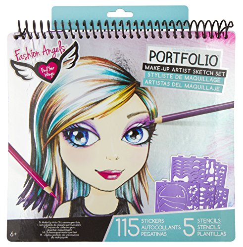 Gift ideas for a 9 year old daughter? Fashion Angels Make-Up Portfolio