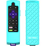 Bear Motion Case for Roku 2017 Remote Controller - Silicone Shock Resistant Cover for Ruko 2017 Remote Controller (Streaming Stick/Stick + / Express 2017, Green)