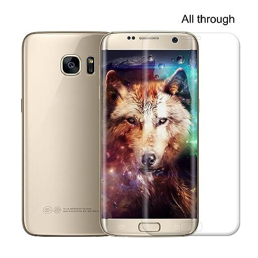3 opinioni per Samsung Galaxy S6EDGE/S7Edge/s6plus Edge Pellicola Protettiva [3d Full
