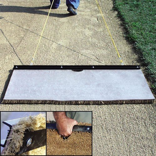 Turf Infield Drag Mat with Tow (Large - 6 ft. x 2 ft.) by SSG