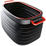 GOSO Trunk Organizer Collapsible Storage Container, 37L Bin Capacity