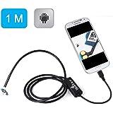BlueFire Android端末 USB接続エンドスコープ(内視鏡)Samsung Galaxy S5/S6 Note 2/3/4/5 など適用 防水ボアスコープ 検査カメラ 1メートル エンドスコープ