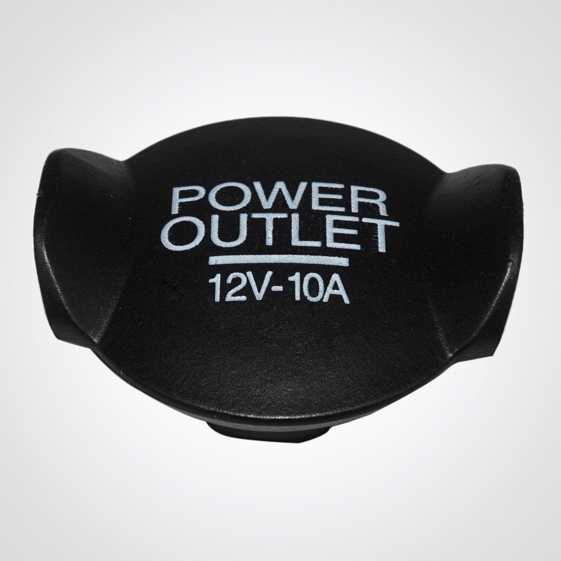 Amazon.com: beler Black 12V 21mm Cigarette Lighter Socket Outlet Cover Cap for Ford Focus Fiesta Mondeo 1073223: Automotive
