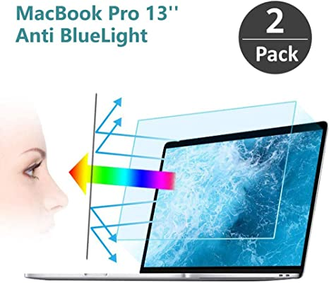 """Anti Glare Filter Film Eye Protection Blue Light Blocking Screen Protector for MacBook Pro 16/"""" FiiMoo Removable Anti Blue Screen Protector Compatible with MacBook Pro 16 Inch 2019"""