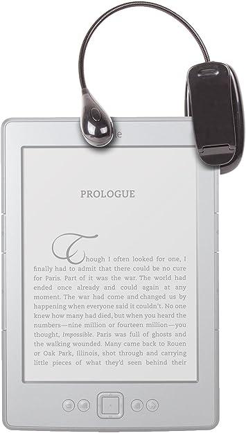 DURAGADGET Luz LED Doble De Lectura para E-Book Kindle Wi-Fi, 6