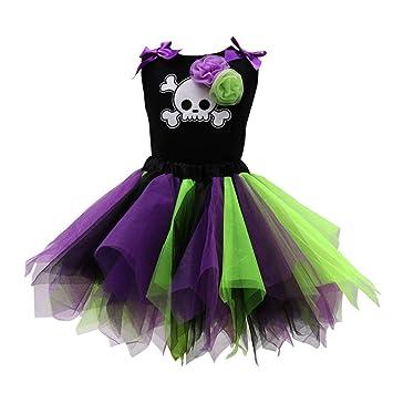 QSEFT  Disfraz de Halloween para niña c788563ebc6