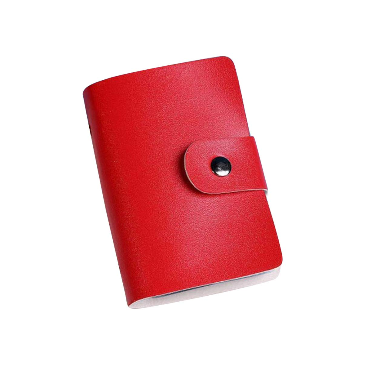 Barlingrock Women Leather Credit Card Case Holders Men Business Card Wallets