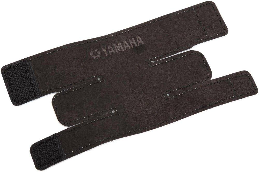 Yamaha Trumpet Valve Guards Black Leather