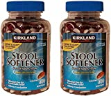 Kirkland Signature JAKLAHQ Stool Softener, 400 Softgels, 2 Pack