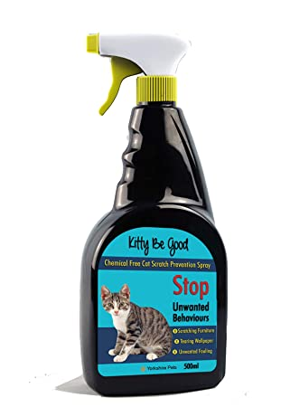 Prime Kitty Be Good Stop Cat Scratching Spray Protect Furniture And Wallpaper 500Ml Download Free Architecture Designs Scobabritishbridgeorg