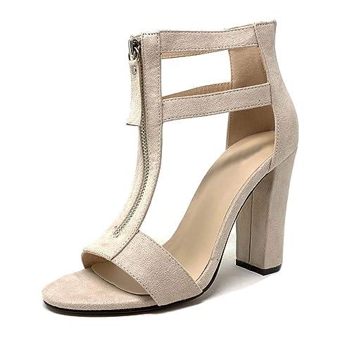 Chaussure Sexy Talons Angkorly Mode Sandale Hauts Salomés Escarpin QdBWreCox