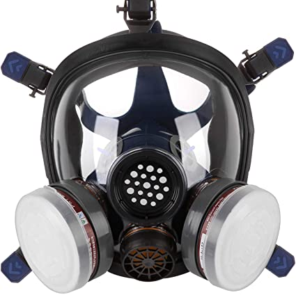Professional Full Face Facepiece Respirator For Painting Spraying Work Safety Masks Prevent Organic Vapor Gas Drop Shipping Back To Search Resultshome & Garden