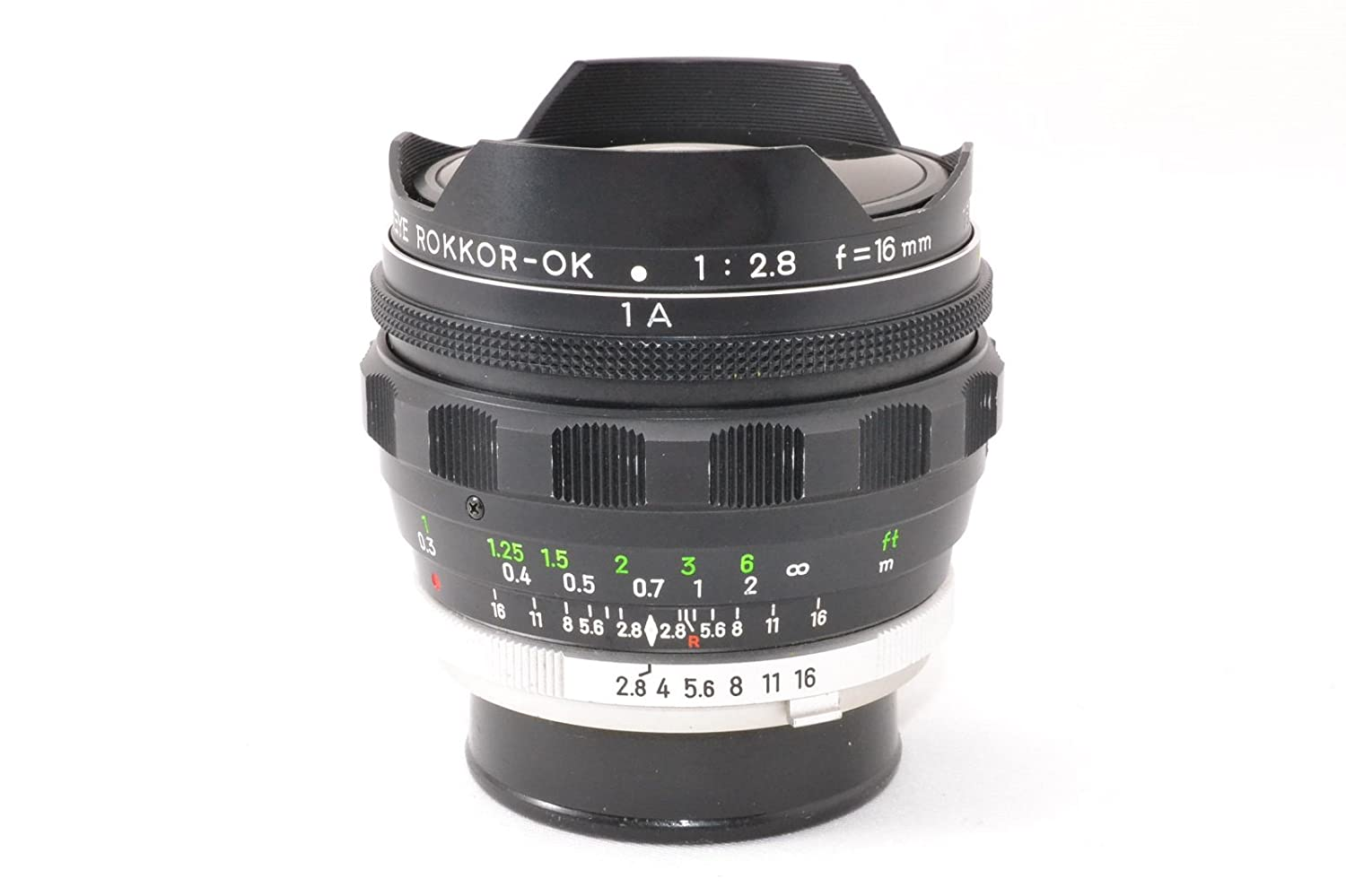 MINOLTA ミノルタ MC ROKKOR-OK 16mm F2.8 FISH-EYE   B072Q866Z2
