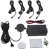 KKmoon Car Auto 4-Sensor Parking Radar Kit Reverse Radar Alarm System
