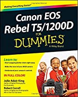 Canon EOS Rebel T5/1200D For Dummies Front Cover
