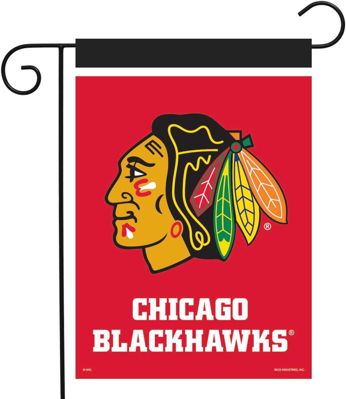 Sparo Chicago Blackhawks Garden Flag Hockey Licensed 12.5