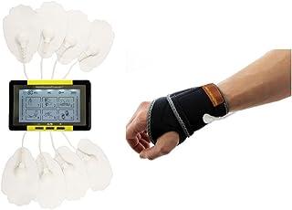 HealthmateForever 6 Modes meilleure thérapie écran tactile numérique Pulse Massager Jaune