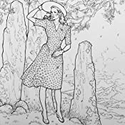 The Official Outlander Coloring Book An Adult Coloring Book Diana