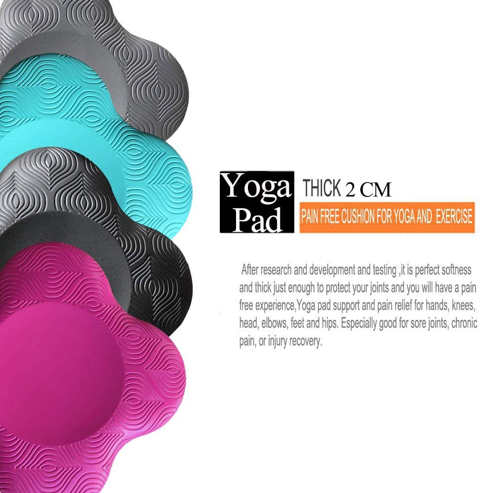 Support for Knees Hands and Elbows Suitable for Yoga Wrists Yoga Knee Pad