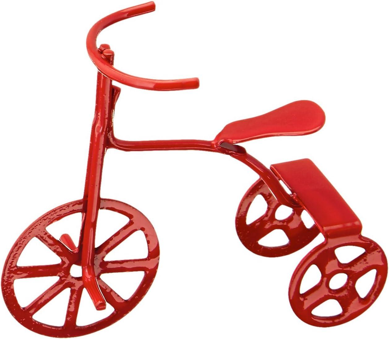 Darice–Plantilla para Grabar 2318–81Miniatura Rojo Triciclo