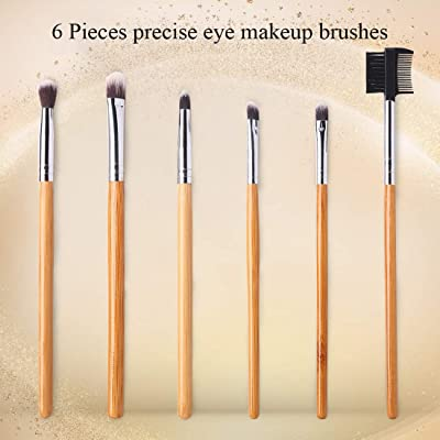 Mua BEAKEY 12+2 Pcs Makeup Brush Set, Premium Bamboo ...